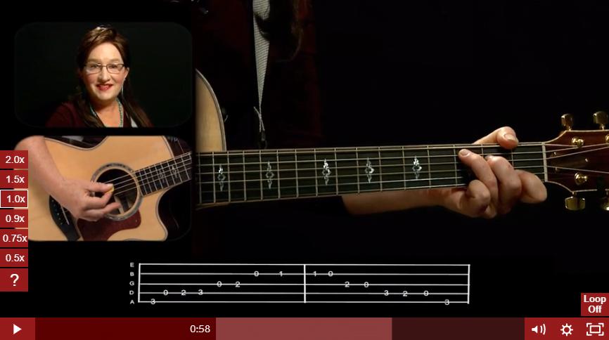 Guitar Fundamentals 1 Course in Guitar Tricks