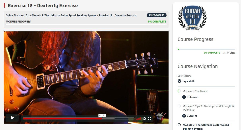 Guitar Mastery Method 1010 Dexterity Building Exercise