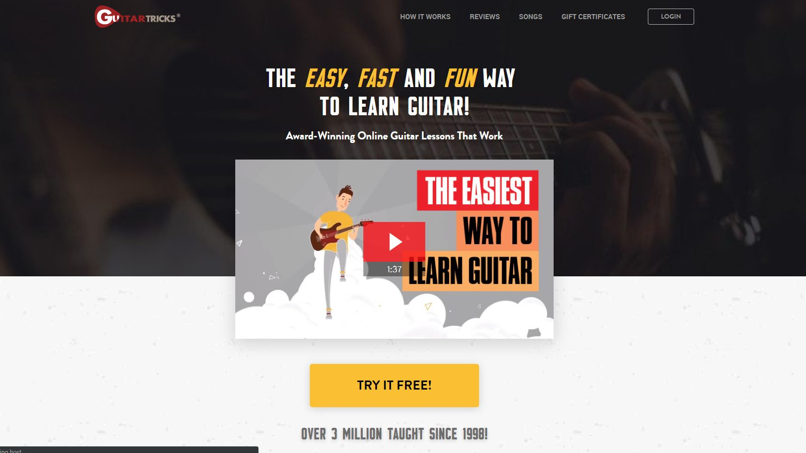 Guitar Tricks Home Page