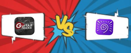 Guitar Tricks VS TrueFire Comparison Page Banner Graphic