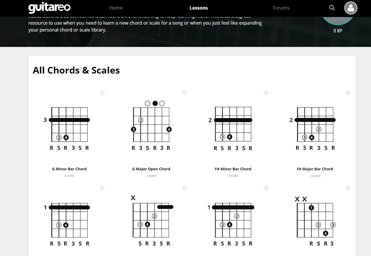 Guitareo Chords