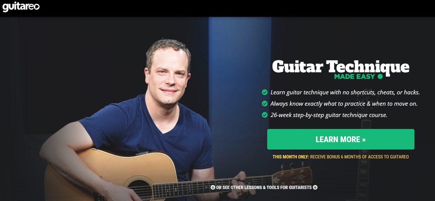 Guitareo Home Page