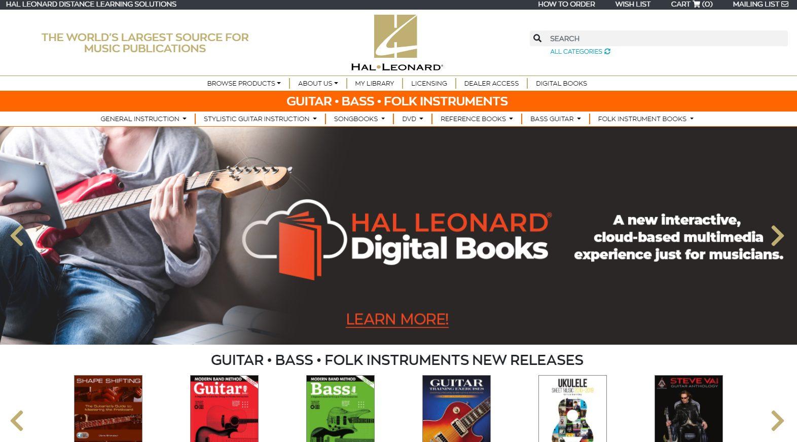 Hal Leonard Guitar Books
