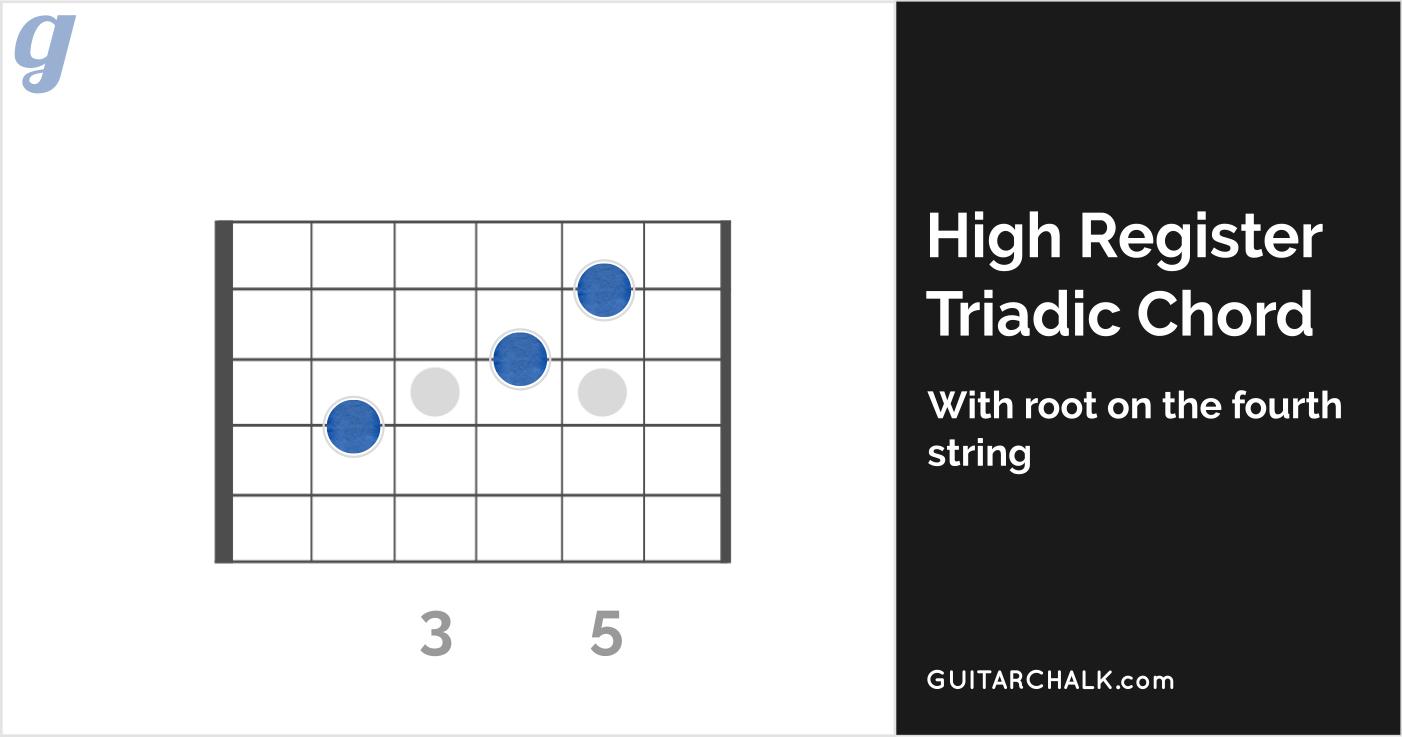 High Register Triadic E Chord