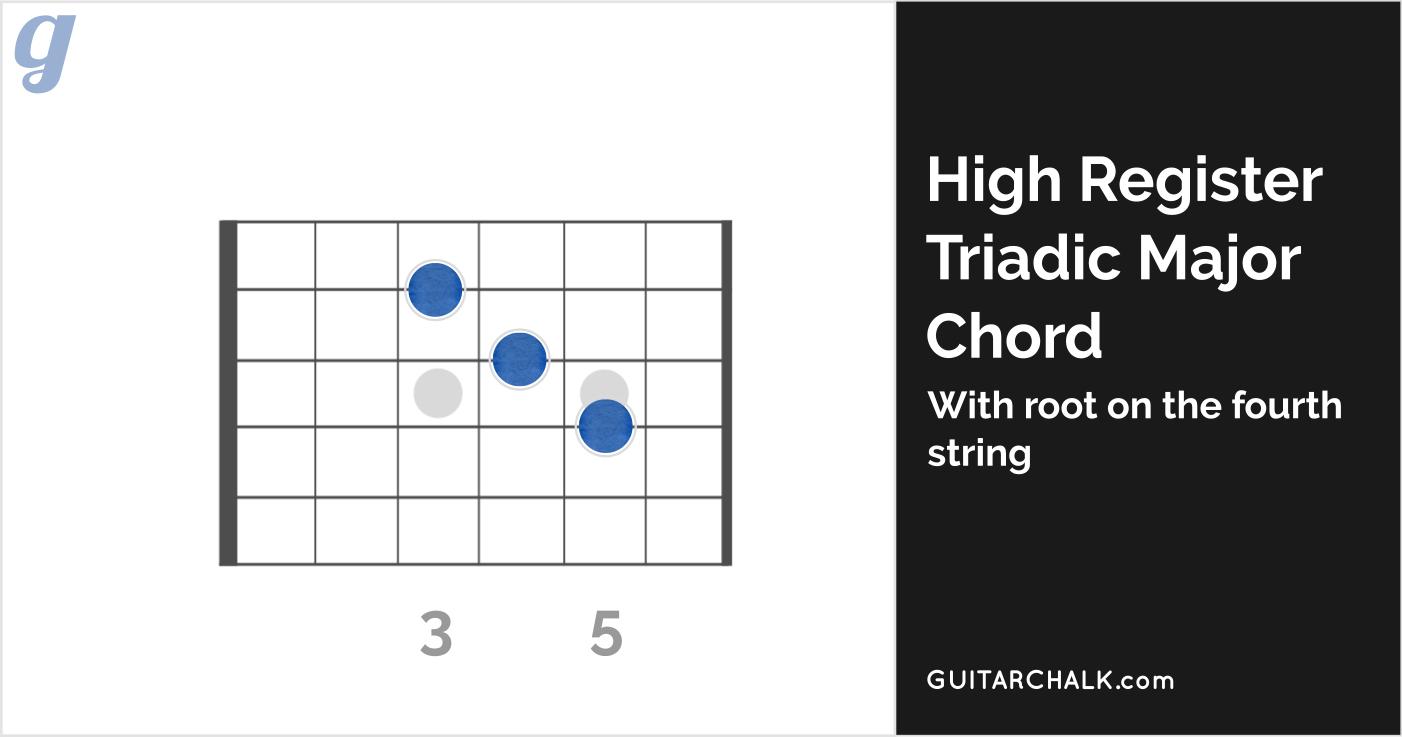 High Register Triadic Chord