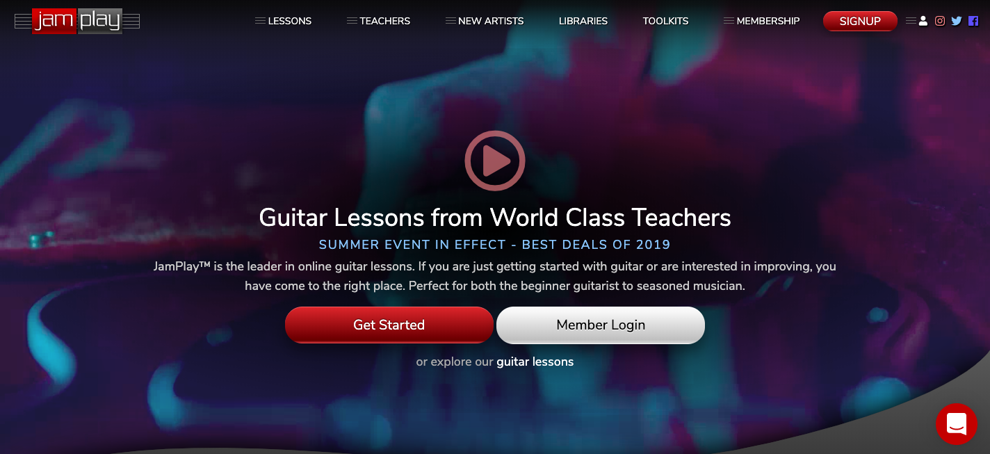 6 Best Online Guitar Lessons (updated for 2019) | Guitar Chalk