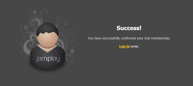 JamPlay Success Page
