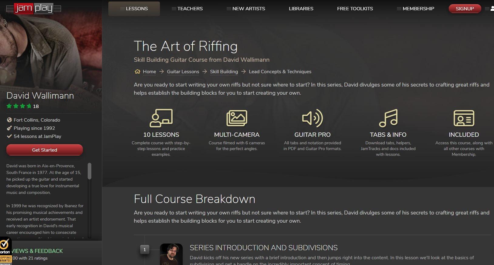 JamPlay - The Art of Riffing Screenshot