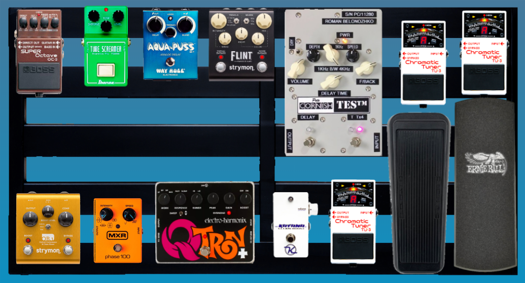 The John Mayer Pedalboard Setup Guide