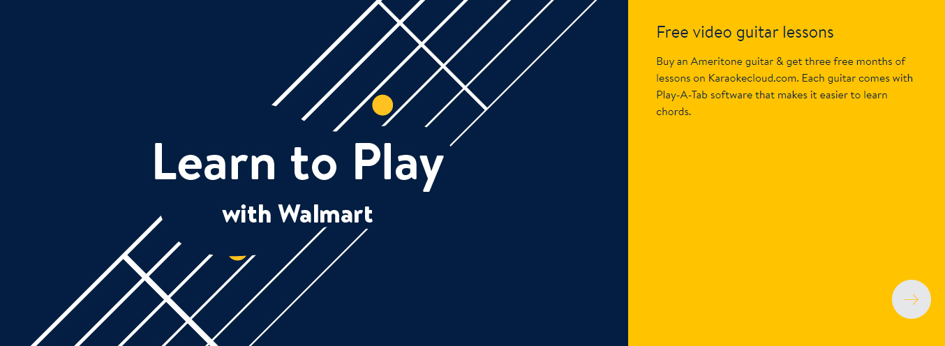 Learn to Play Walmart Home Page