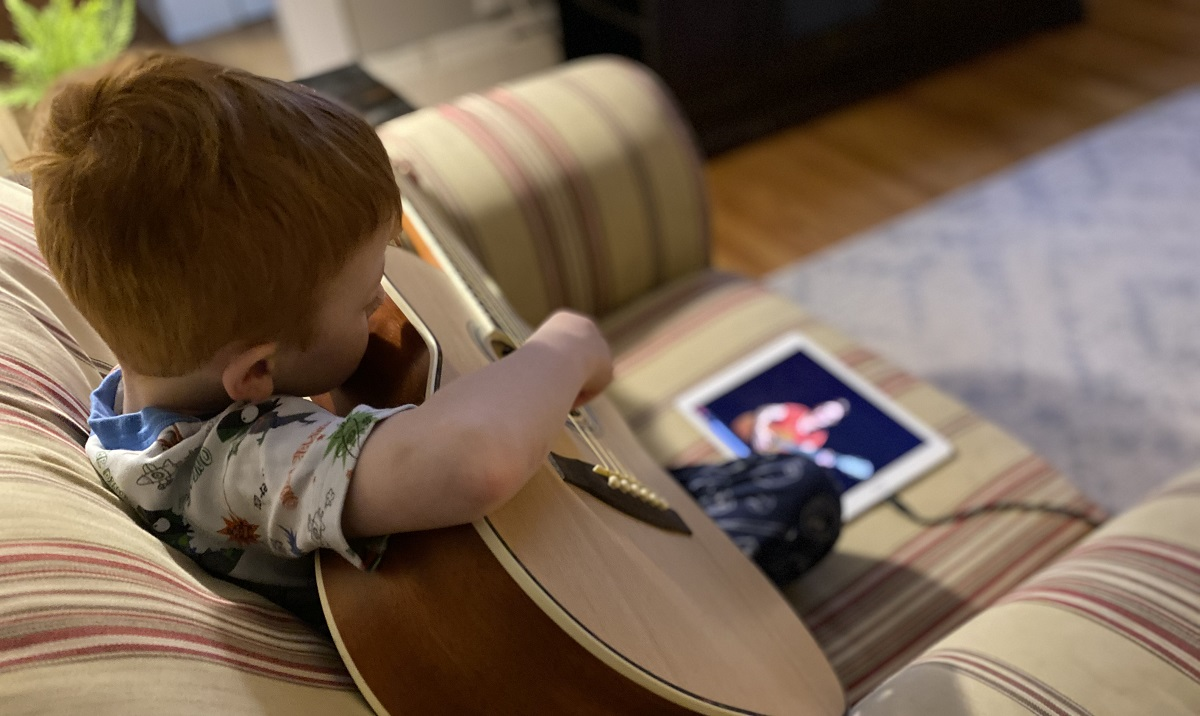 Learning Guitar on the iPad