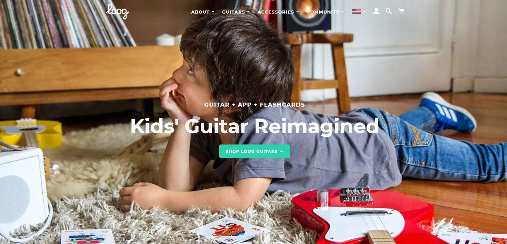 Loog Guitars Home Page