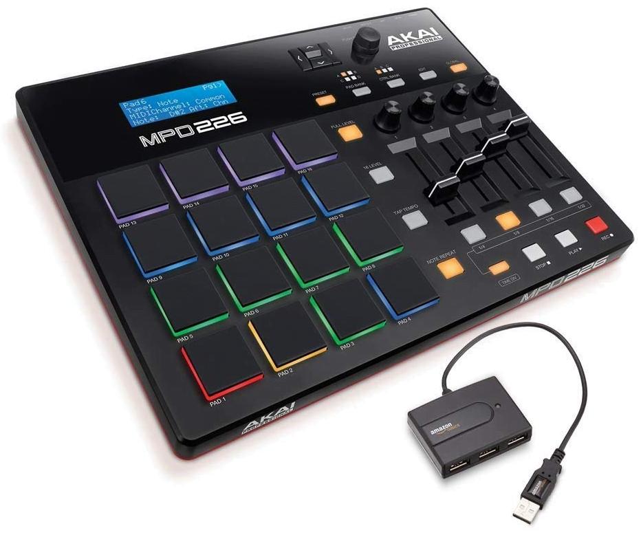 MIDI Controlled Drum Pad (Akai)