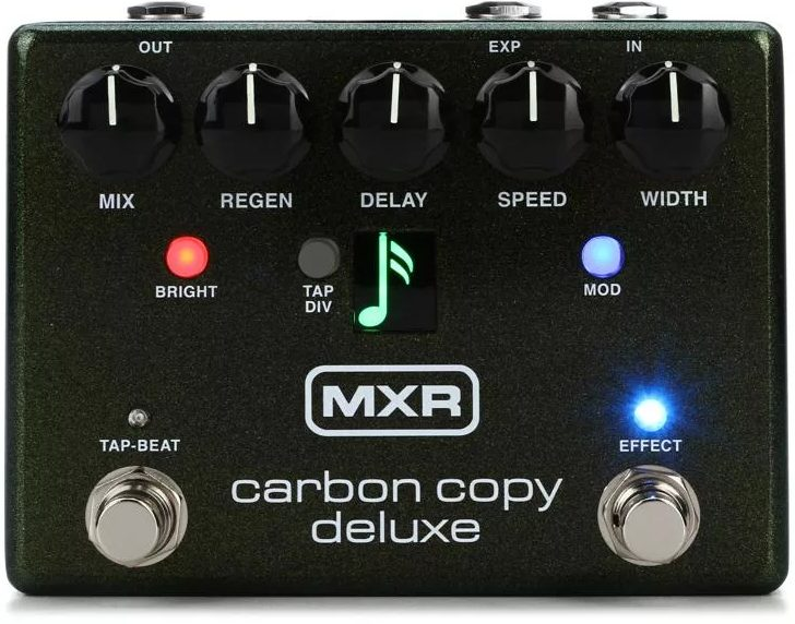 MXR Carbon Copy Deluxe Delay Pedal