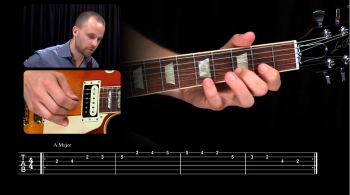 Major and Minor Scales in Rock