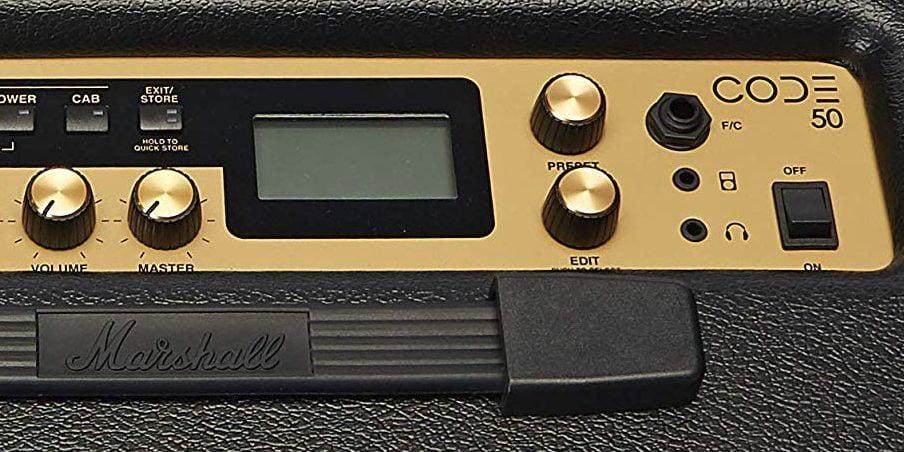 Marshall Code Amp with Headphone Jack
