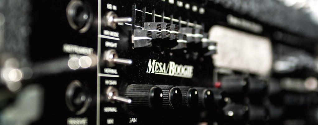 Mesa Boogie Mark Five (close shot)