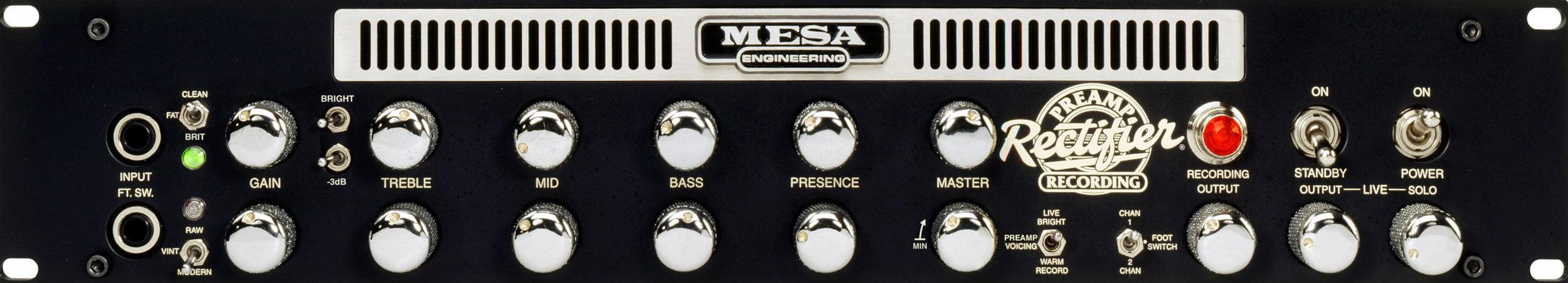 Mesa Boogie Recording Preamp