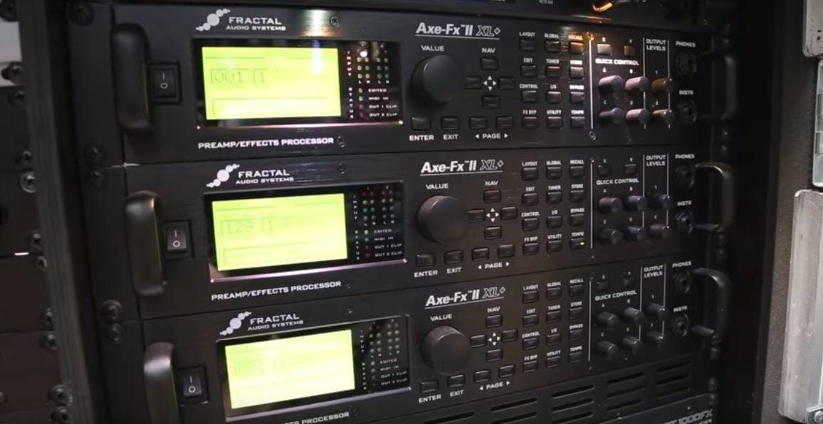 Metallic Axe-FX II Units