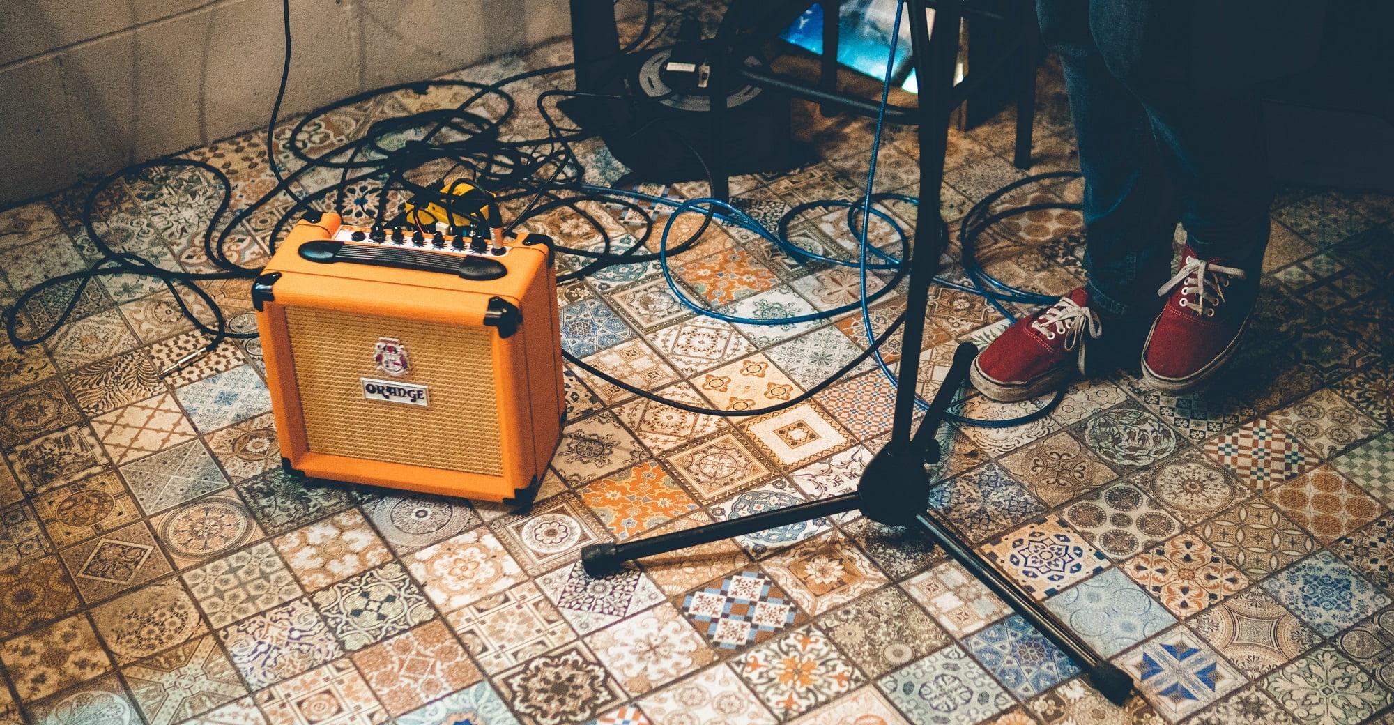 Orange Crush Practice Amp