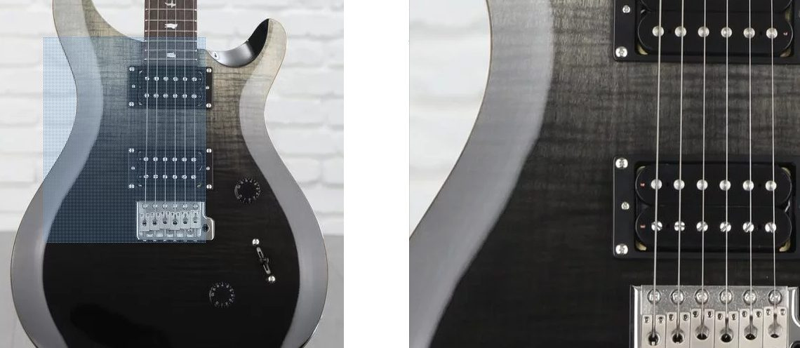 PRS SE Custom 24 Close Up