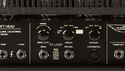 Parallell Effects Loop in a Mesa Boogie Rectifier Amp Head