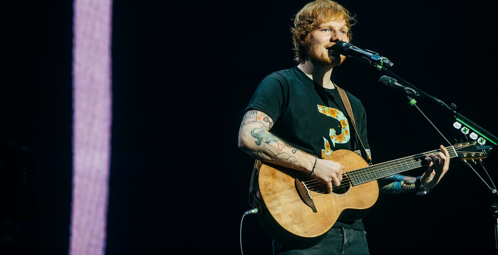 Parlor Acoustic Guitar Played by Ed Sheeran