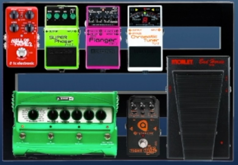proper pedalboard order and effects categorization with the pedalboard planner guitar chalk. Black Bedroom Furniture Sets. Home Design Ideas