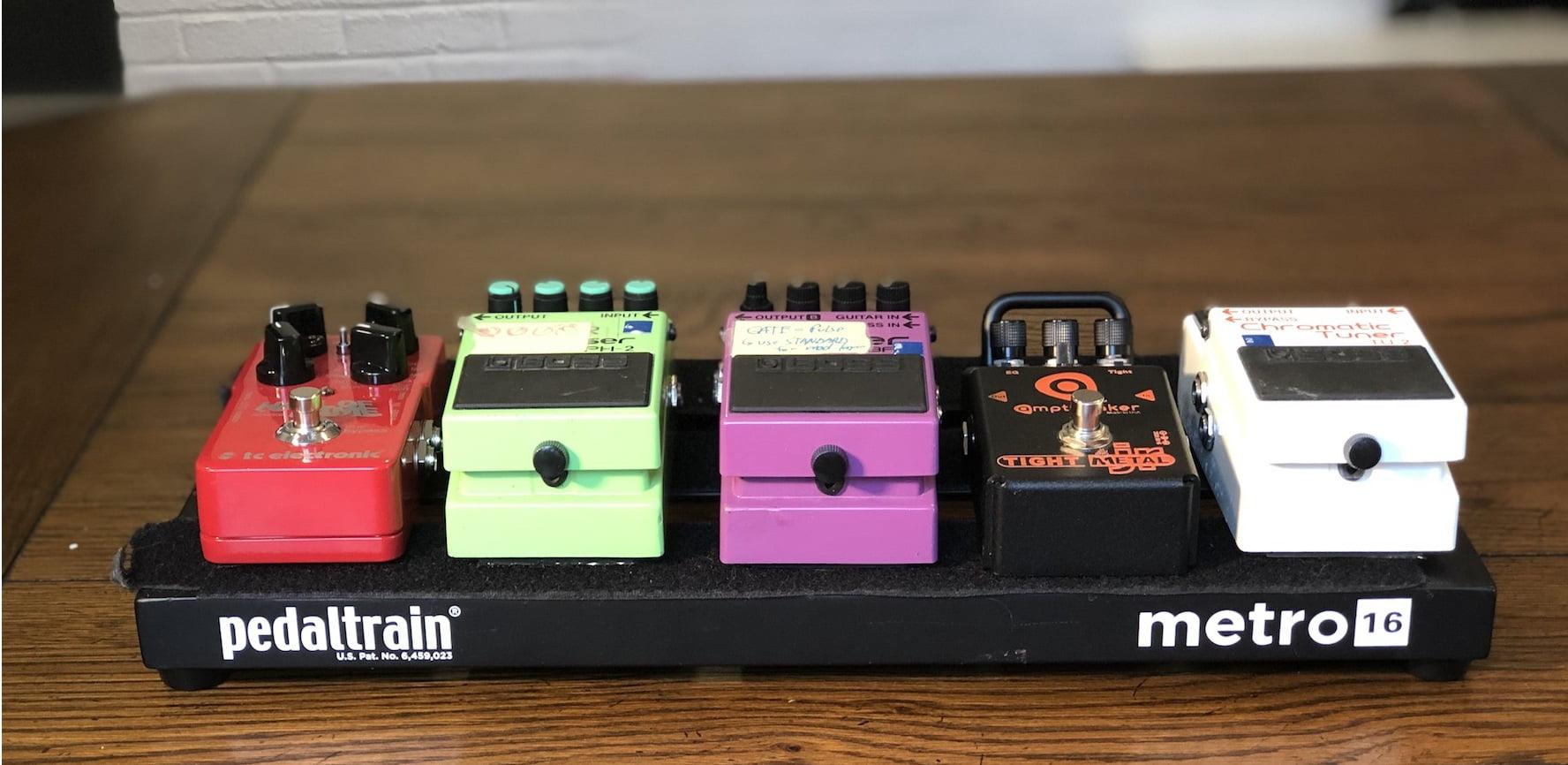 how to setup guitar pedals a beginners guide guitar chalk. Black Bedroom Furniture Sets. Home Design Ideas