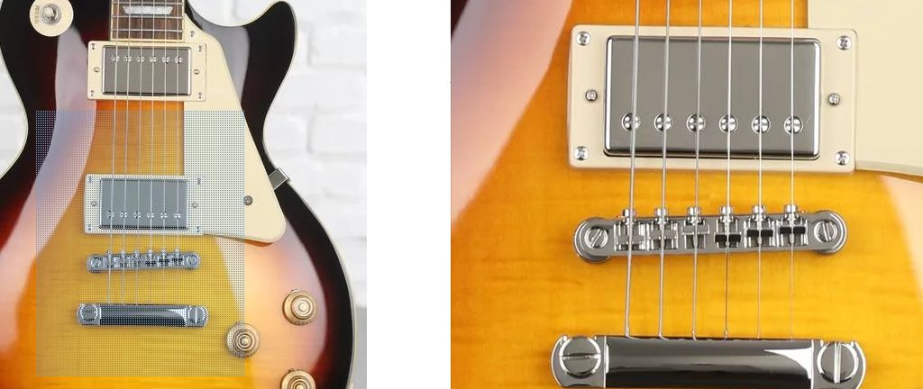 Pickups on the Epiphone Les Paul 50s Standard