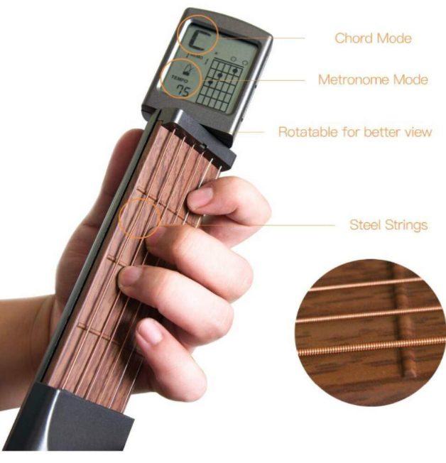 Pocket Guitar LCD Readout