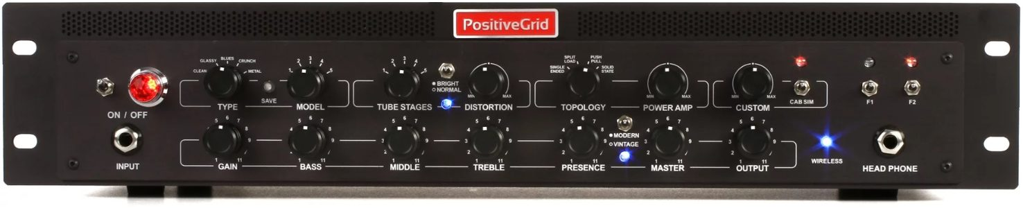Positive Grid BIAS Rack Amp Match Rackmount Preamplifier