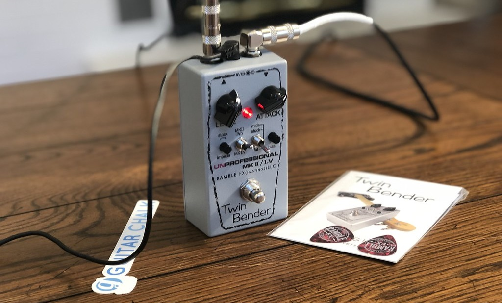 Rable FX Twin Bender Fuzz Pedal