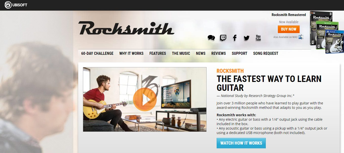 Rocksmith Home Page