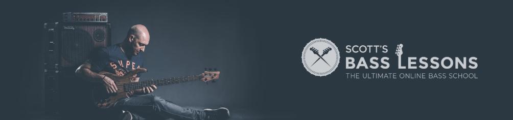 Scott's Bass Lessons Banner