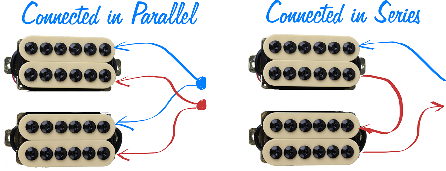 Series VS Parallel Pickup Connection