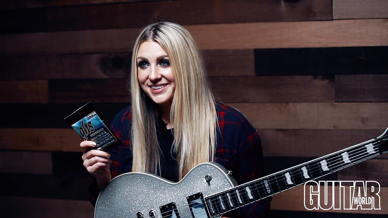 Stephanie Bradley's Guitar World Feature