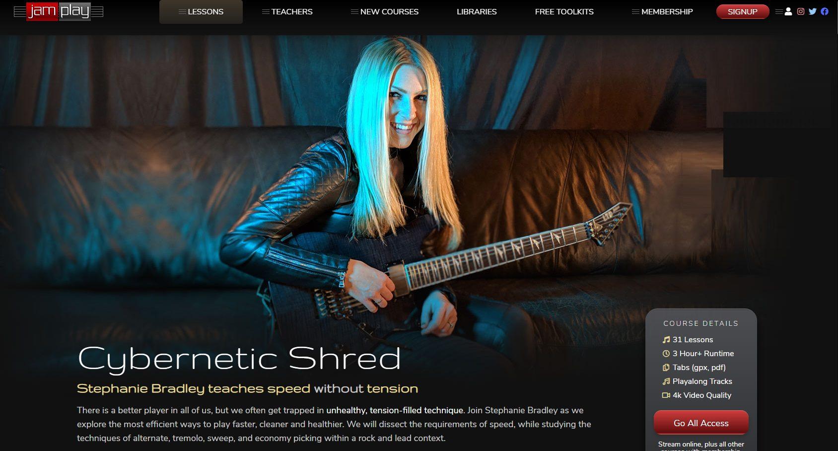Stephanie Bradley's JamPlay Course