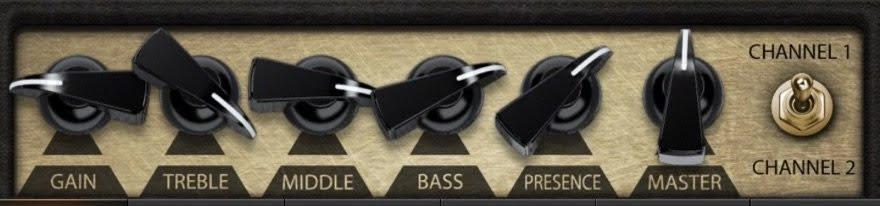 Stevie Ray Vaughan Clean Amp Settings Diagram