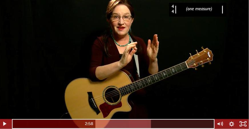 Strumming Lesson in Guitar Tricks - Video Screen Shot