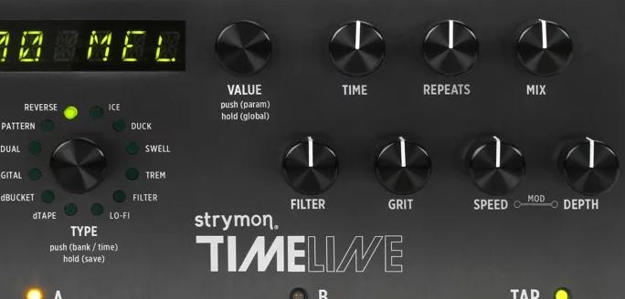 Strymon Timeline Controls