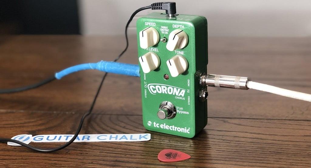 TC Electronic Corona Guitar Pedal