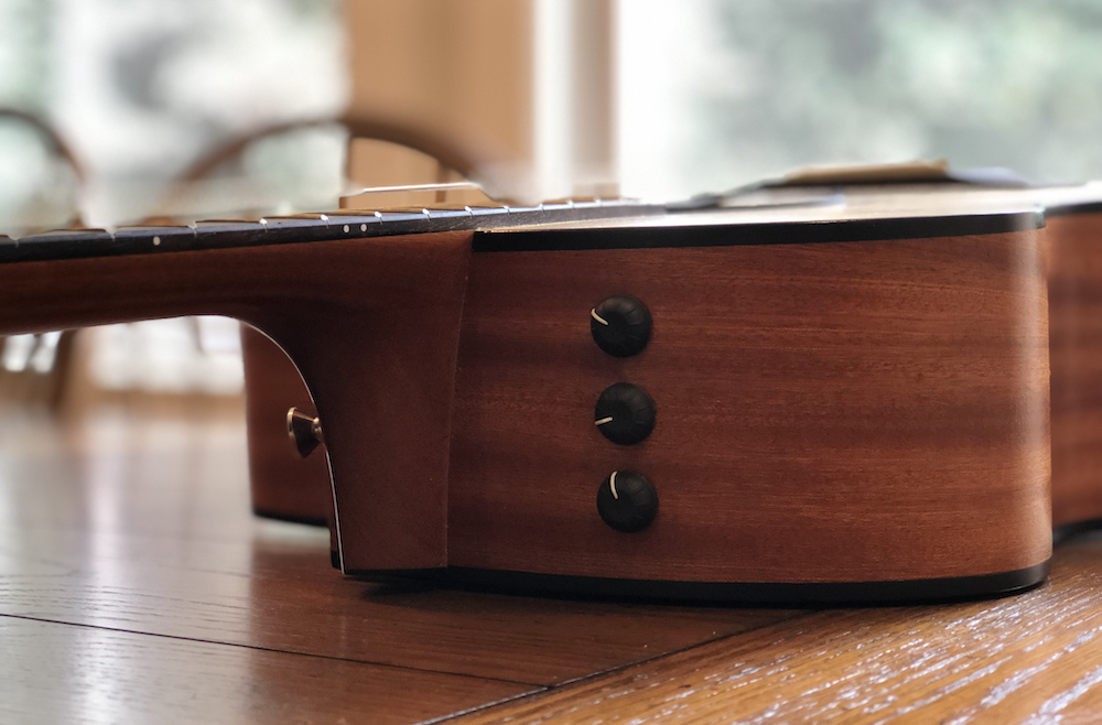 Taylor Acoustic Guitar Preamp Controls