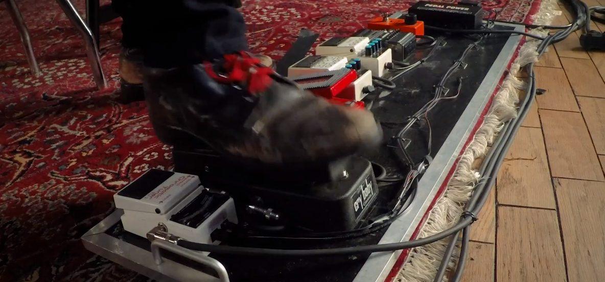 Tom Morello Masterclass Review Pedalboard Closeup
