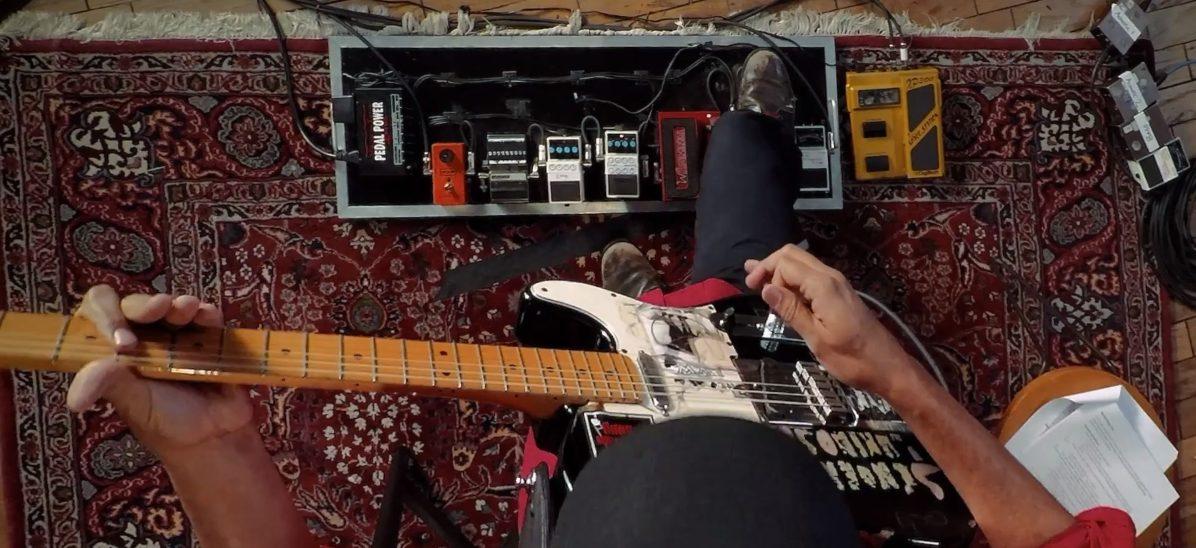 Tom Morello Masterclass Review Top-Down Shot