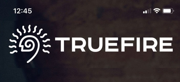 TrueFire Mobile App Banner