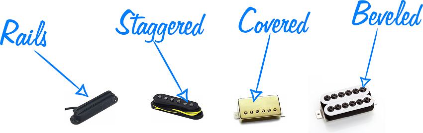 Types of Poles in Guitar Pickups (resized)