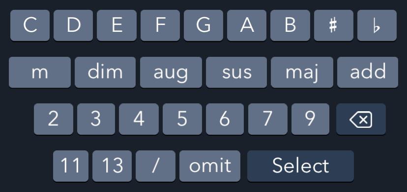 Uberchord Keyboard