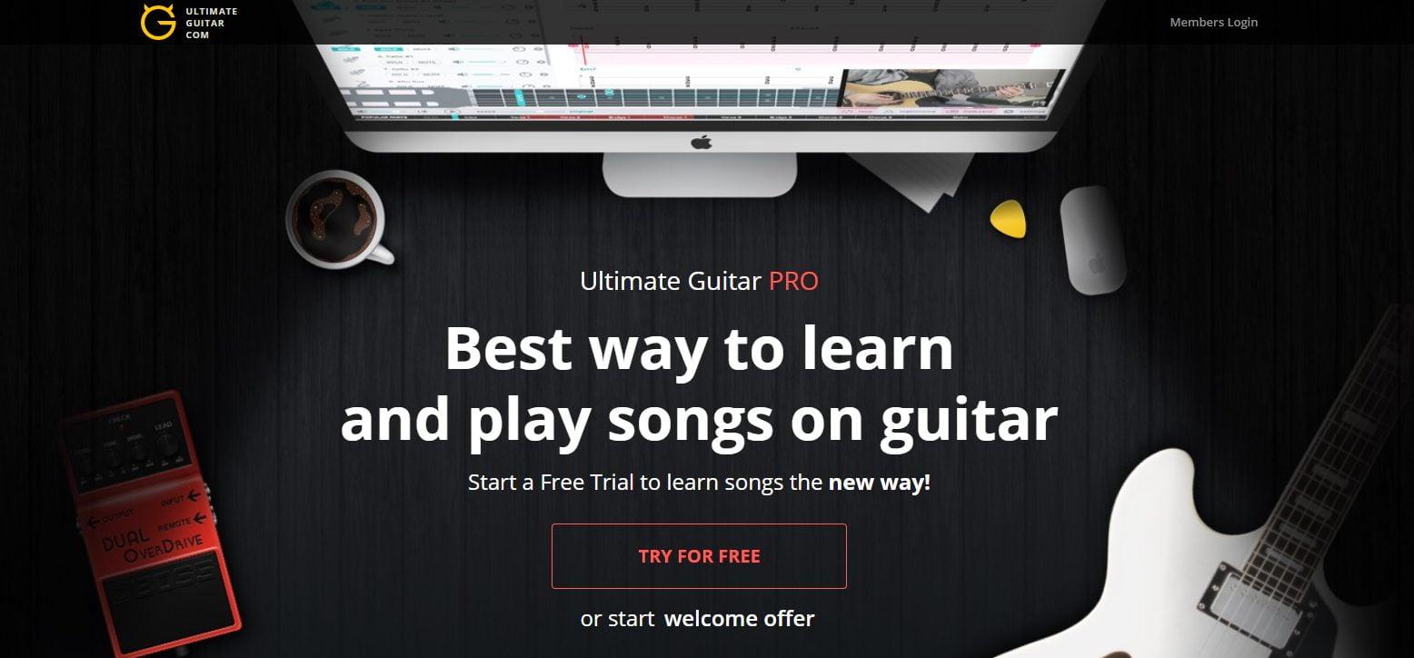 Ultimate Guitar Pro Banner