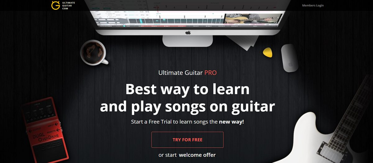 Ultimate Guitar Pro Review Banner Photo